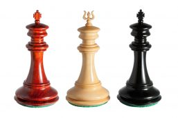 Different King's Finials of the Apollo 4.4 inch Luxury Chessmen