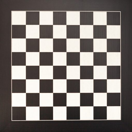 Asturias – 6 cm Square Size Black Spanish Chess Board