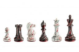 New York Series Chess Pieces - vibrantly colored
