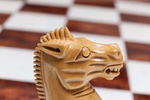 Luxury Chess Knight made of Boxwood from Staunton Evolution Club-Size Series